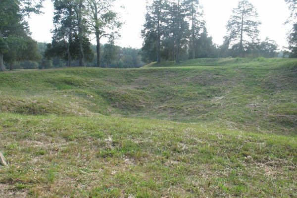 Picture of the what remains of the Crater today