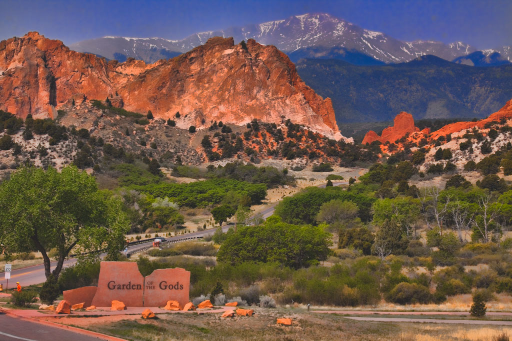 A picture of Garden of the Gods