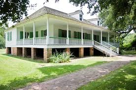 The Magnolia Plantation House at Cane River Creole National Historical Park.