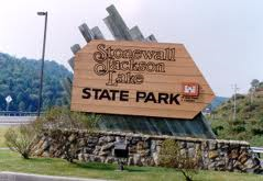Stonewall Jackson State Park was created through private-public partnerships as part of West Virginia's effort to create more outdoor recreational opportunities for residents and visitors to the state.