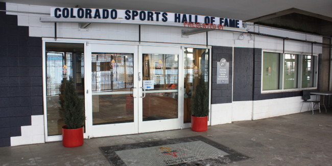The front view of the Colorado Sports Hall of Fame. Photo by uncovercolorado.com