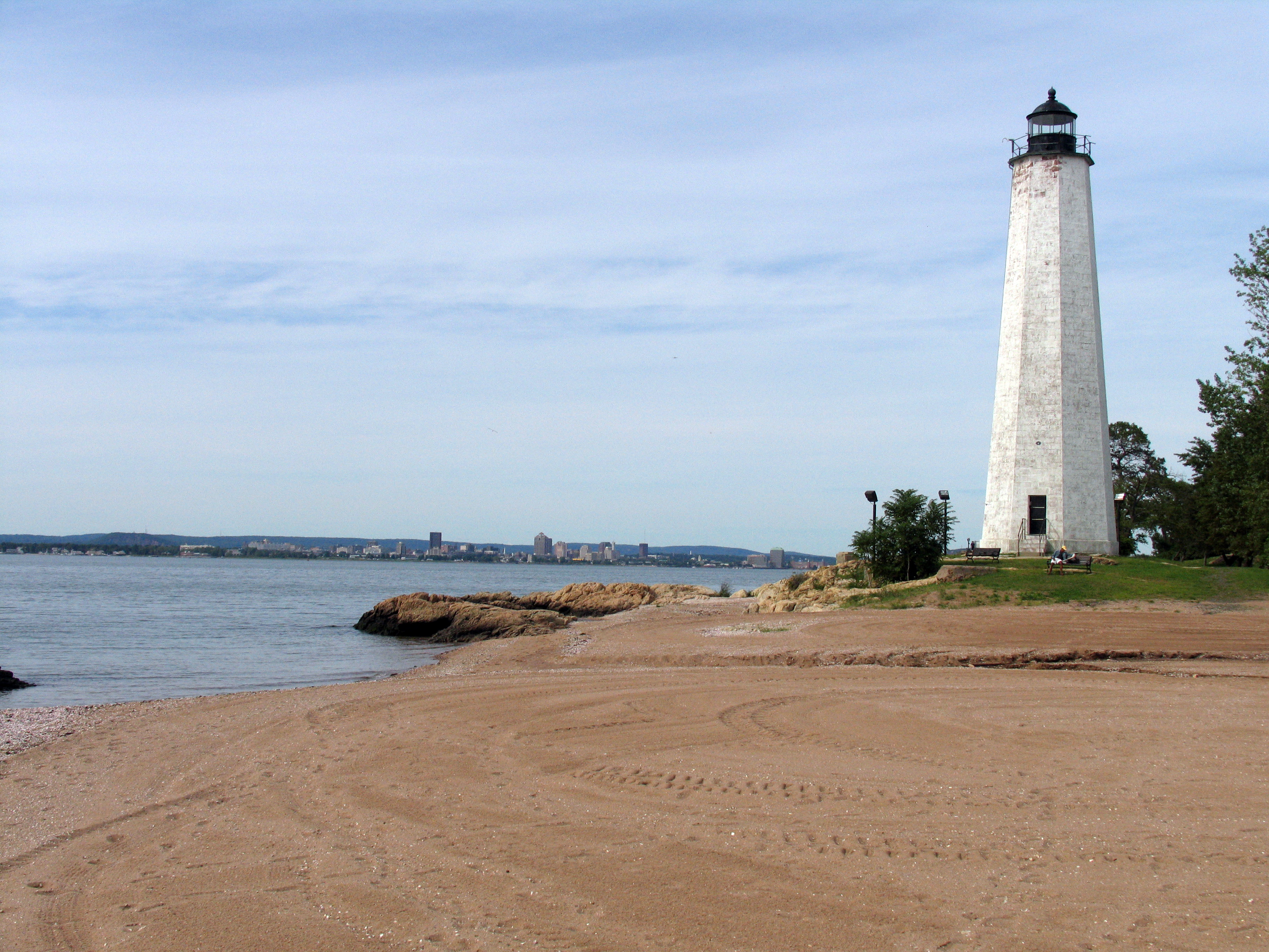 View of the Five Mile Point Light