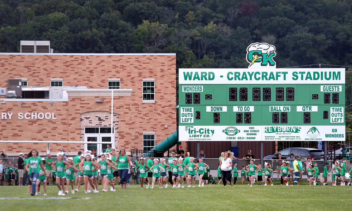 The Opening of the New Ward-Craycraft Stadium