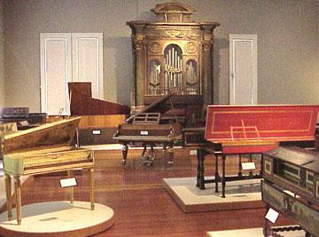 Gallery of Keyboard Instruments