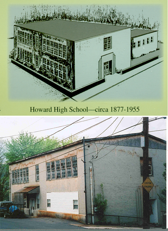 "This school opened in 1877. In 1890, white students were assigned to a new school and this facility became known as the ""Colored School."" In 1912, it was named in honor of J. Howell Howard, the first black principal of the school."