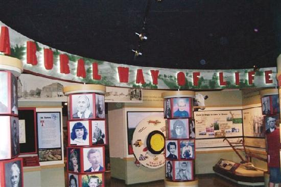 The Rural Way of Life exhibit