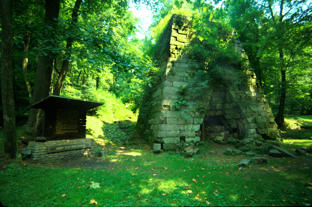 The Henry Clay Furnace.