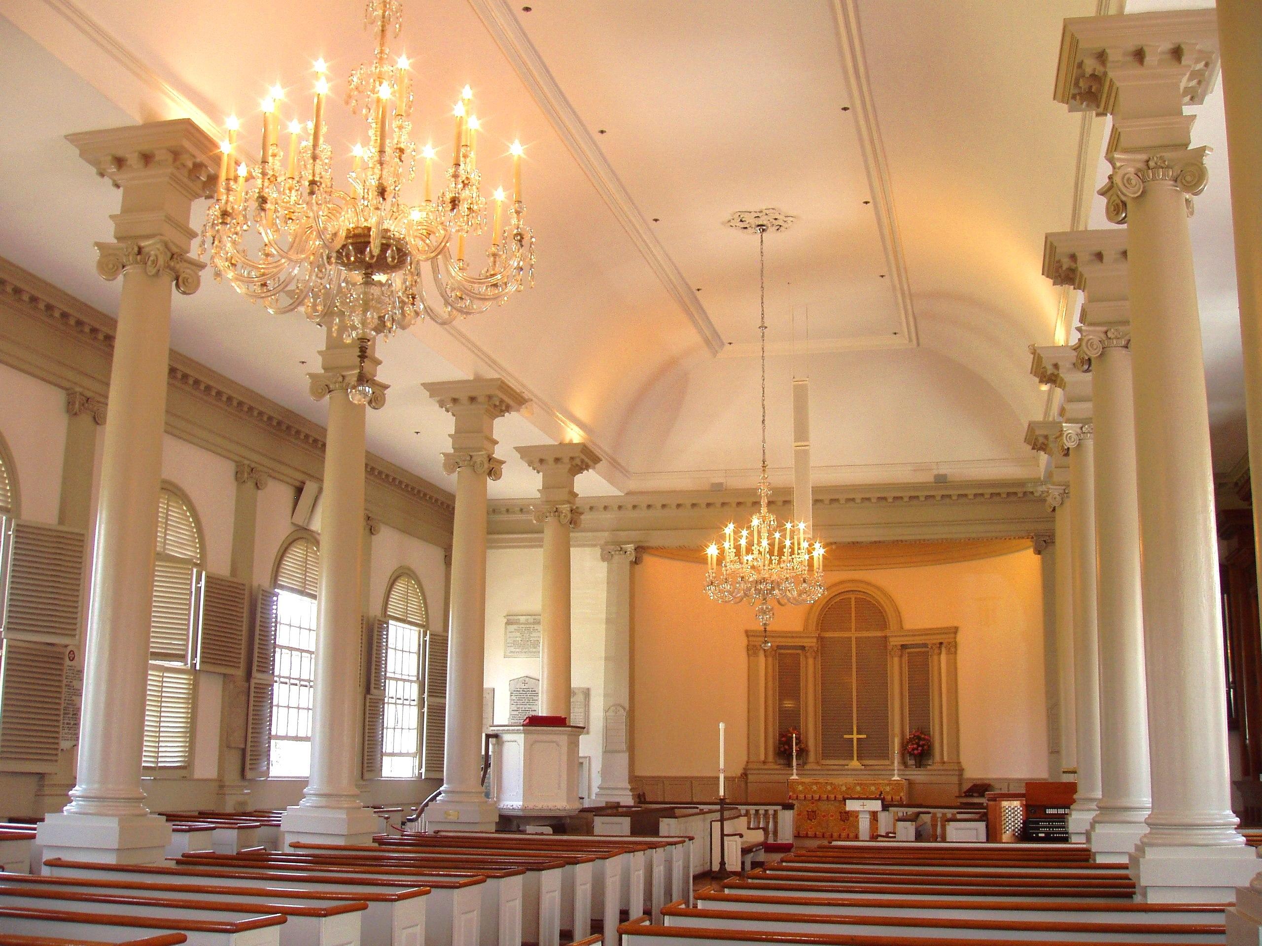 Christ Church interior.