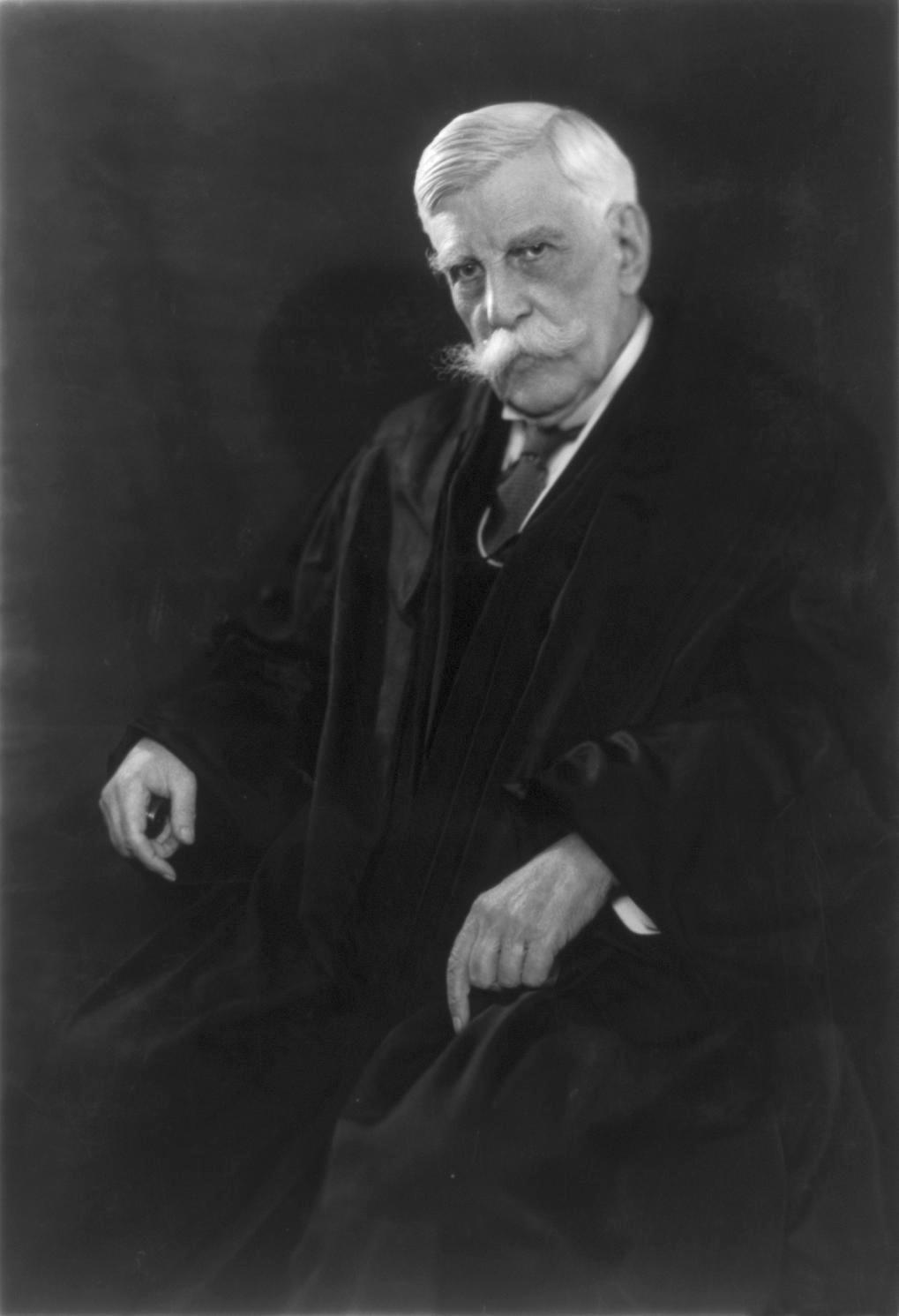 Oliver Wendell Holmes, Jr., circa 1930.