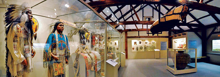 The Native American Gallery.