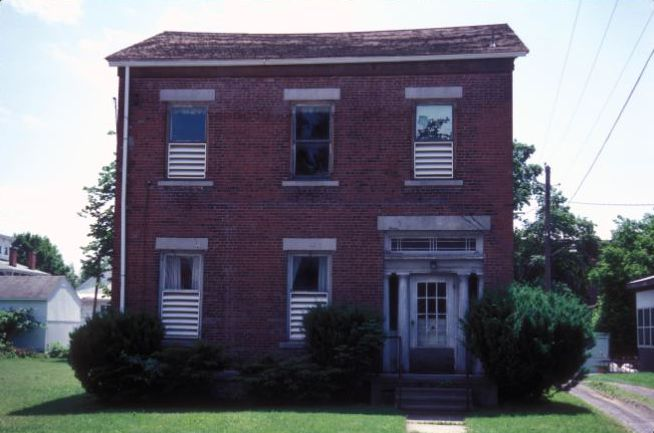 The M'Clintock House was built in 1836. It was here that the Declaration of Sentiments was drafted, primarily by Elizabeth Cady Stanton.