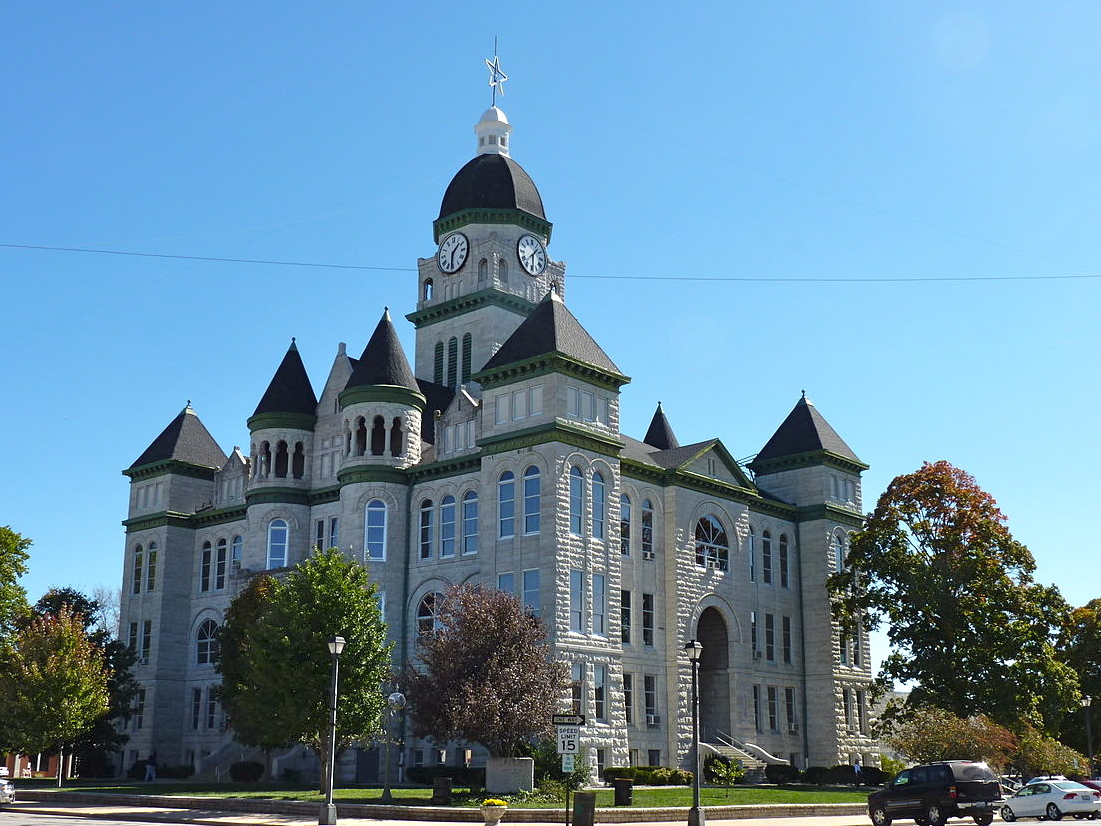 Jasper County Courthouse, c 2015