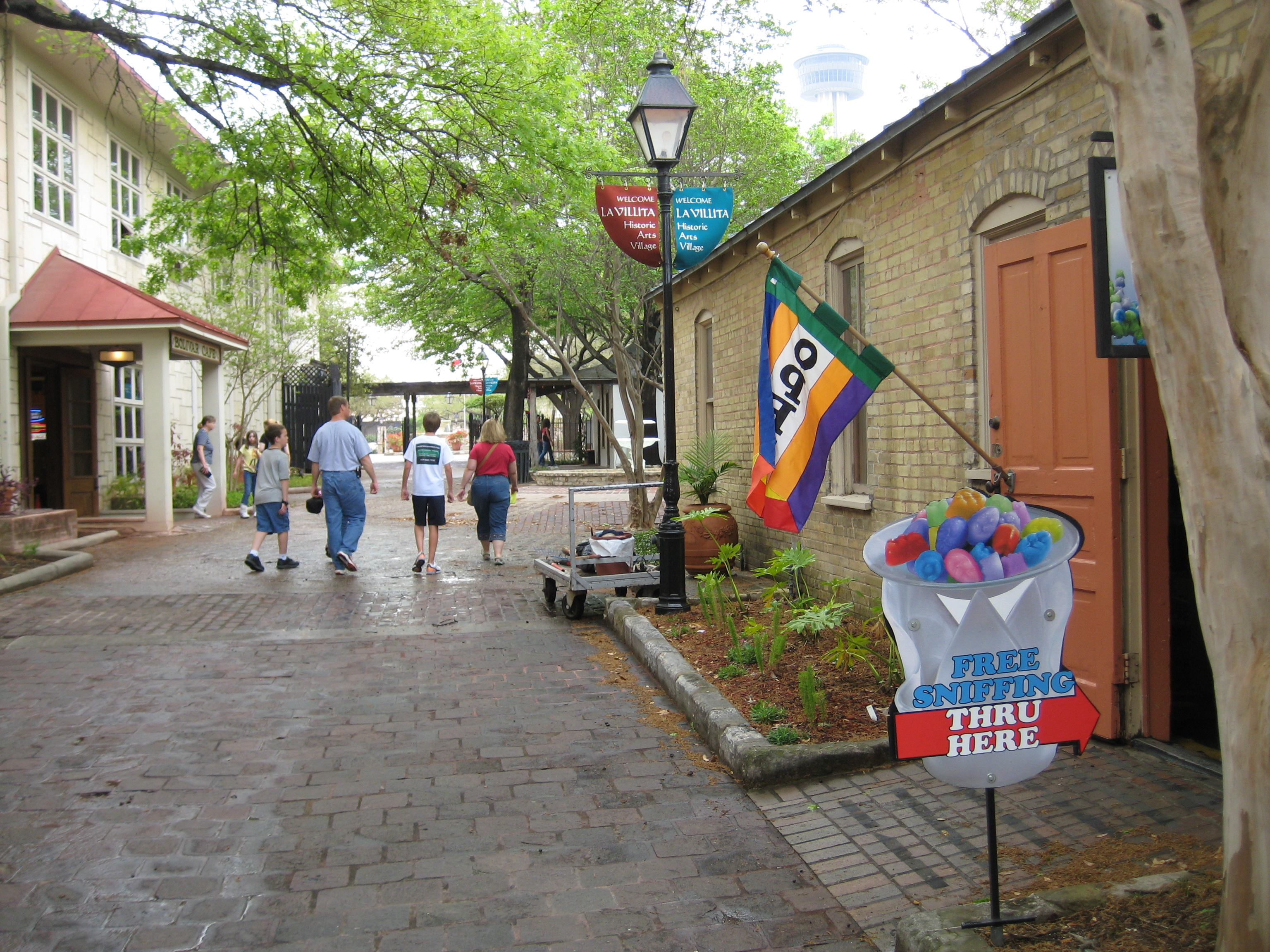 La Villita reflects the many cultures that have impacted San Antonio