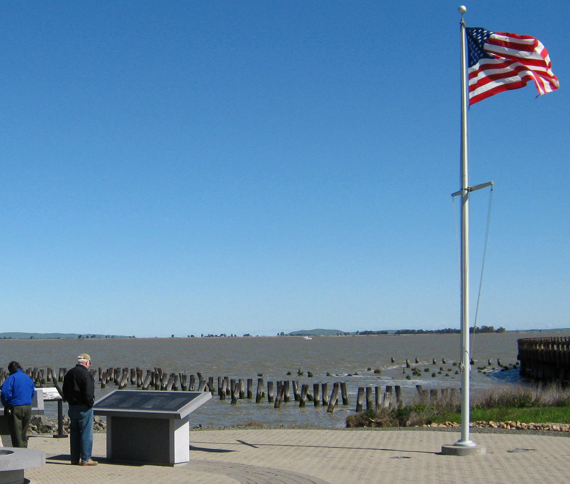 The Port Chicago Naval Magazine Memorial is located at the Concord Naval Weapons Station.