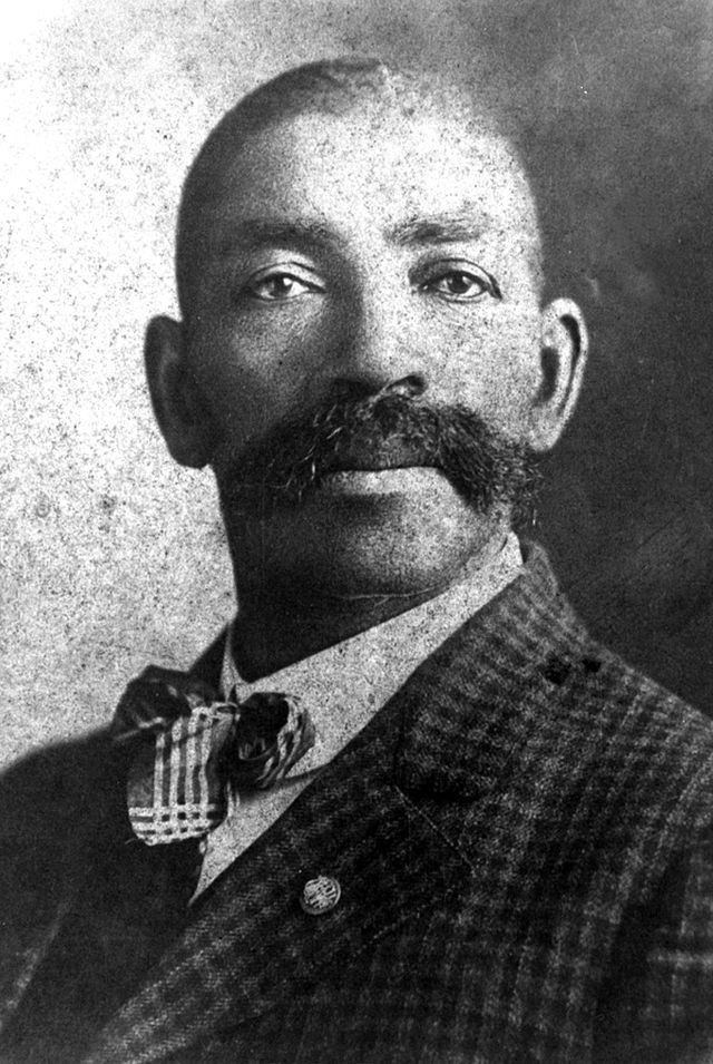 Photo of Bass Reeves.
