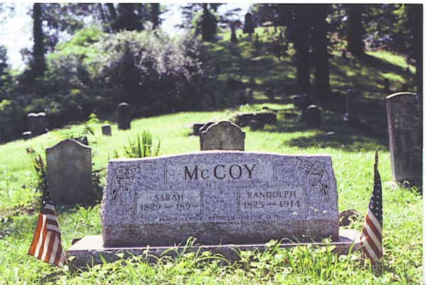 Dils Cemetery is part of a Hatfield and McCoy driving tour.