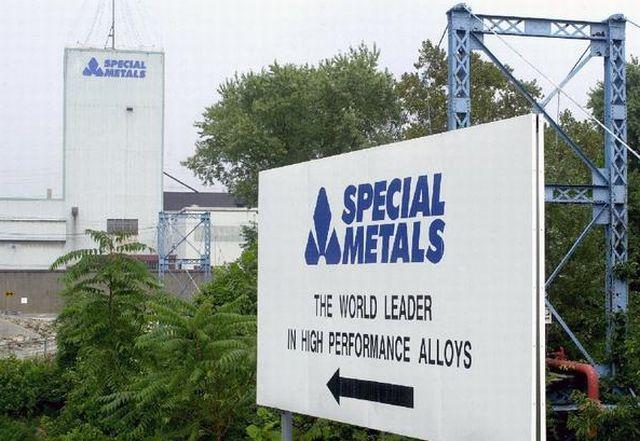 Special Metals sign