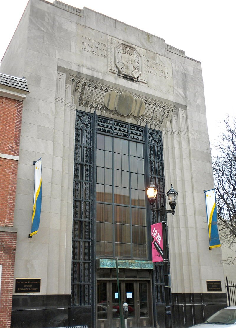 The Delaware Historical Society was founded in 1864.