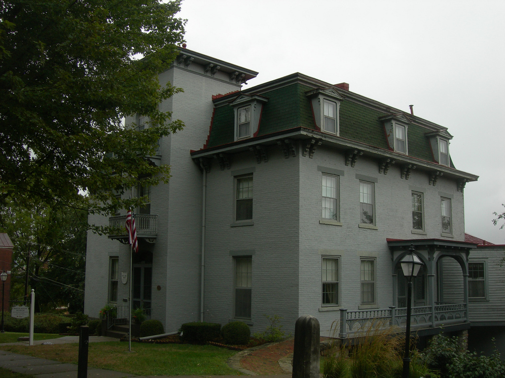 In 1972, the Phelps family donated the home to the Des Moines County Historical Society.
