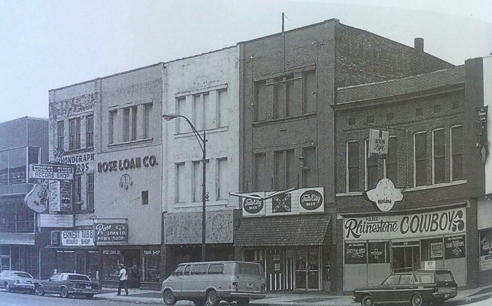 Ernest Tubb Record Shop, 1950s