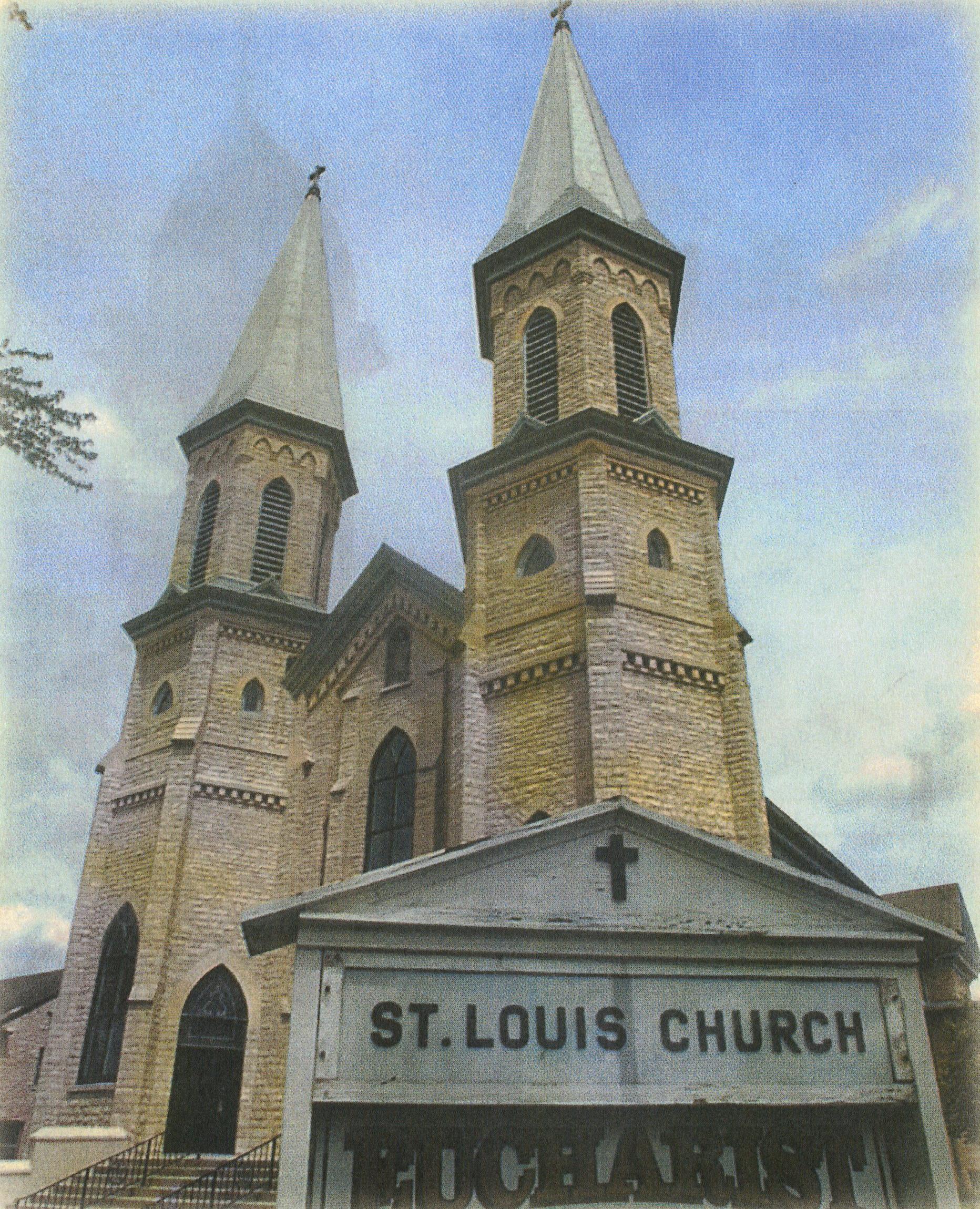 St. Louis Church, c. 2006.