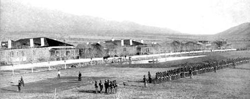 Fort Grant in the 1880s.