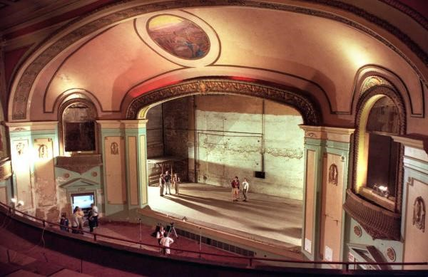 A recent photo of the Jayhawk under renovation.