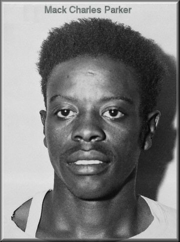 A picture of Mack Charles Parker. It remains to be seen if this picture was a regular picture of Parker or a mugshot from when he was arrested.
