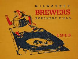 An advertisement for Borchert Field, 1943