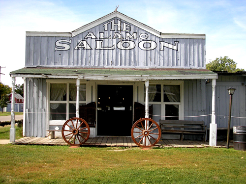 The Saloon is just one of the buildings on the grounds that is getting a face lift to enhance the experience.