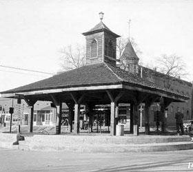 The Slave Market House: Louisville, GA  Circa 1930s