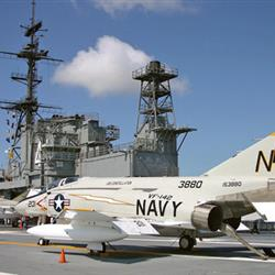 The crew aboard the USS Midway were able to launch a plane every sixty seconds.