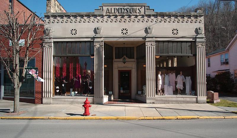 Alderson's Store exterior view