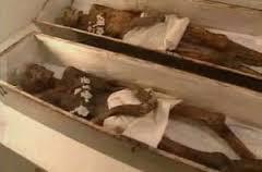Philippi mummies on display
