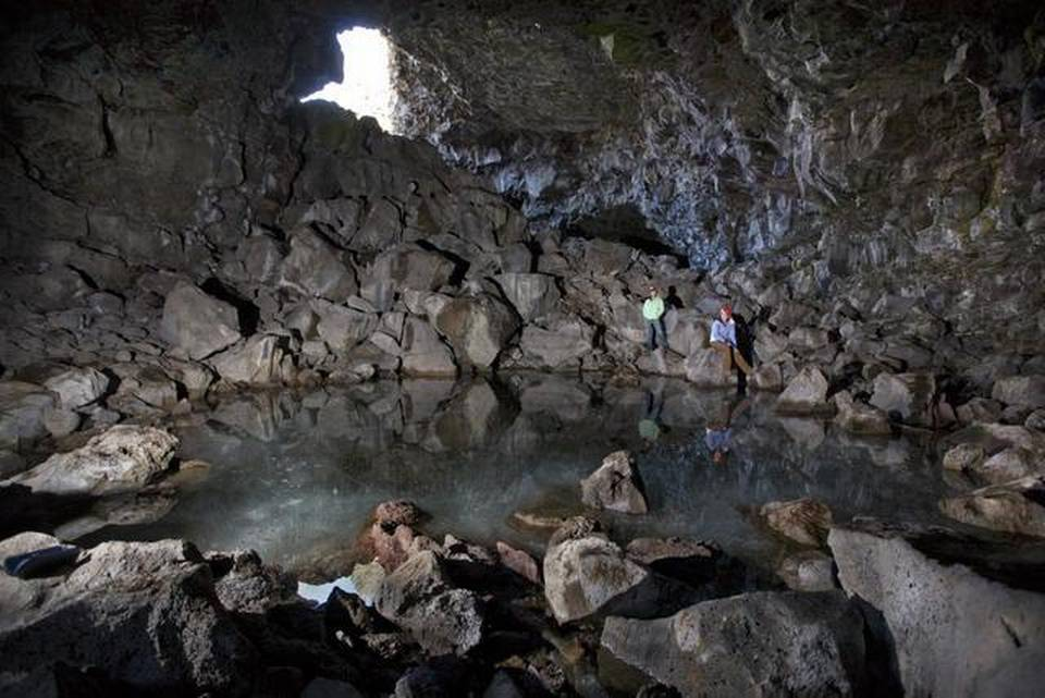 Heppe ice cave