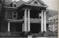 Harris Funeral Home 1955
