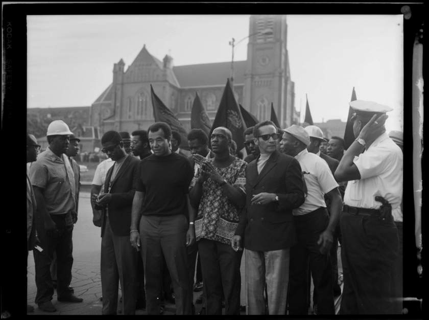 Demonstration at Freedom Corner (1969)
