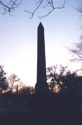 Obelisk at Graceland Cemetery