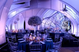 Restaurant in Adler Planetarium. Adler has become a popular setting in Chicago for formal events such as weddings and banquets.
