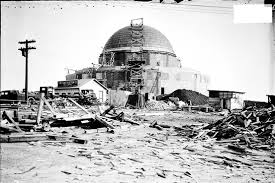 Construction of Adler Planetarium in 1929