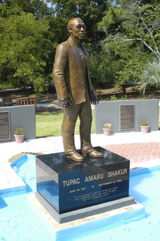Tupac Shakur Monument