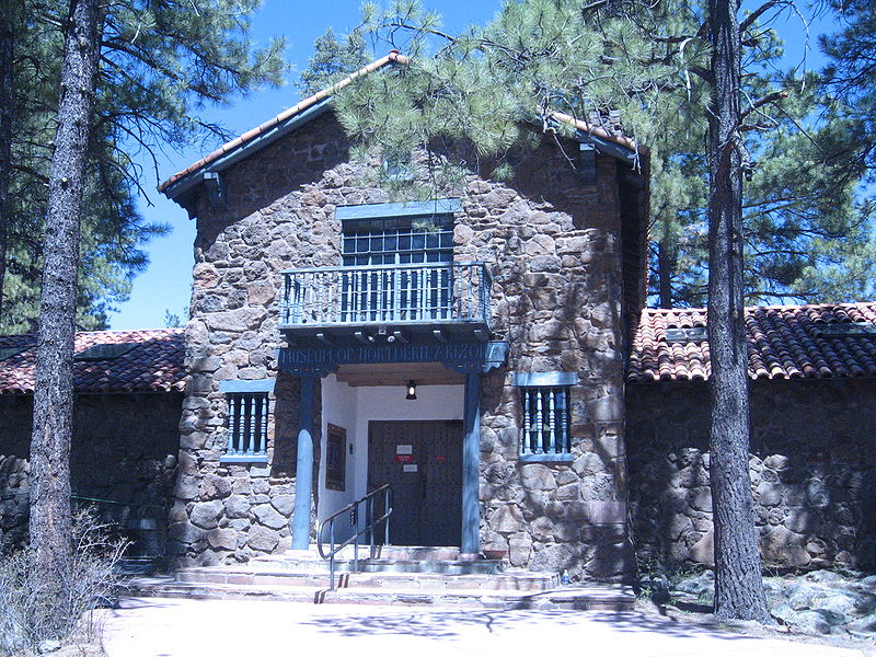 Front entrance to the Museum of Northern Arizona