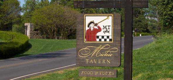Michie Tavern sign