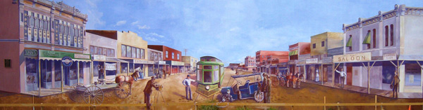 The Chadbourne Street Mural, S. Chadbourne & W. Concho