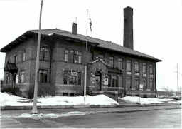 The old jail, in operation until 1987.