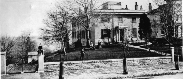 Early Photo of the Taft House
