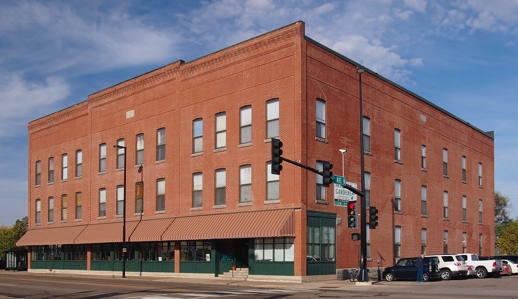 The Carter Block building was built in 1902 and became an important economic and social center for St. Cloud.