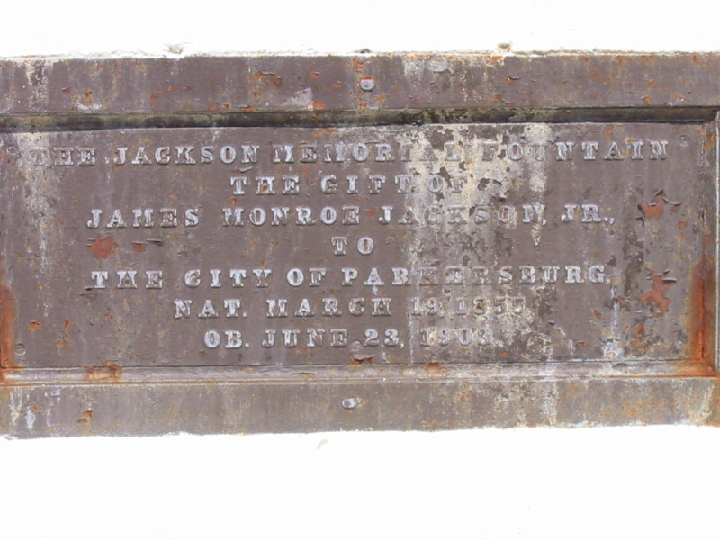 Inscription on the Fountain