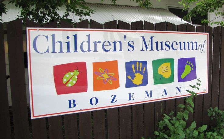 Sign for the Bozeman Children's Museum