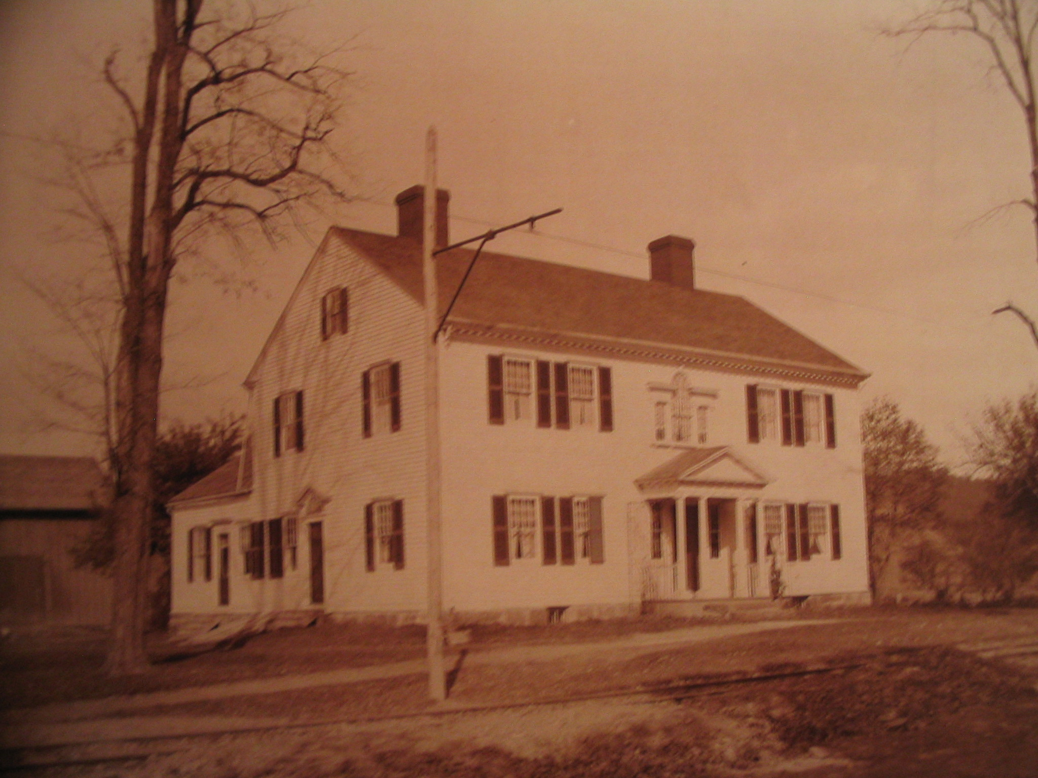 Earliest picture of Washingtonian Hall in Endwell NY